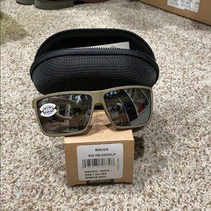 Rincon - moss - gray silver mirror 580g sunglasses